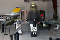 64-0777 @ KADS - Head on view, Cavanaugh Flight Museum Addison, TX - by Ronald Barker