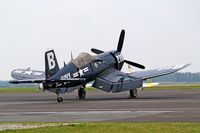 F-AZVJ @ LFAC - Vought F4U-4 Corsair [9418] Calais~F 13/08/2006