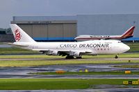 B-KAB @ EHAM - Boeing 747-312SF [23409] (Dragonair Cargo) Amsterdam-Schiphol~PH 10/08/2006 - by Ray Barber