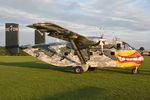 OE-FDN @ LKKT - Pink Aviation Shorts Skyvan