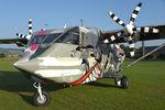 OE-FDI @ LKKT - Pink Aviation Shorts Skyvan