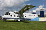 OE-FDP @ LKKT - Pink Aviation Shorts Skyvan