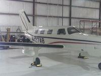 N427AB @ KIXD - In the hangar - by Floyd Taber