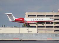 N833E @ KMIA - Gulfstream V