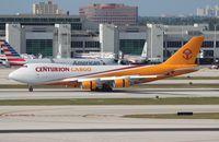 N902AR @ MIA - Centurion Cargo 747-400F