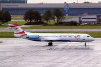 OE-LVD @ EHAM - OE-LVD   Fokker F-100 [11515] (Austrian Arrows) Amsterdam-Schiphol~PH 10/08/2006