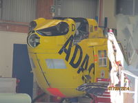 D-HEMS @ NZAR - At Ardmore in airwork hangar awaiting new owner or use as spares. - by magnaman