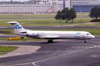 PH-OFL @ EHAM - Fokker 100 [11444] (KLM cityhopper) Amsterdam-Schiphol~PH 10/08/2006