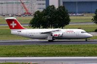 HB-IYQ @ EHAM - British Aerospace BAe 146-RJ100 [E3384] (Swiss European Air LInes) Amsterdam-Schiphol~PH 10/08/2006
