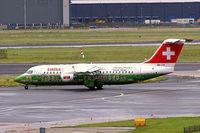 HB-IYS @ EHAM - British Aerospace BAe 146 RJ100 [E3381] (Swiss European Air Lines) Amsterdam-Schiphol~PH 10/08/2006