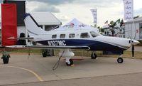 N107MC @ KOSH - Piper PA 46-350P - by Mark Pasqualino