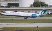 N940AT @ FLL - Air Tran 717