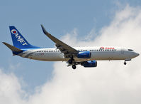 C-FYQN @ LEBL - Landing rwy 07R in CanJet c/s with Itaka titles... Travel Service flight this day... - by Shunn311