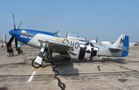 N5427V @ YIP - P-51D Petie 2nd at Thunder Over Michigan