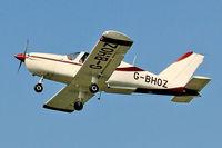 G-BHOZ @ EGFH - Visiting Tampico, Kemble based, seen departing runway 22 at EGFH, en-route EGBP. - by Derek Flewin