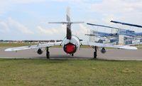 N9143Z @ LAL - Mig-17 of Black Diamond Jet Team