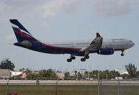 VP-BLY @ MIA - Aeroflot A330-200
