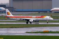 EC-IIG @ EHAM - Airbus A321-211 [1554] (Iberia) Amsterdam-Schiphol~PH 10/08/2006 - by Ray Barber