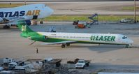 YV1240 @ MIA - Laser MD-81 (with a newer style tail cone)