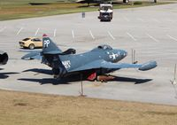 126275 - F9F-5P Panther at Battleship Alabama - by Florida Metal