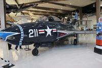 128109 @ NPA - Grumman F9F-6 Cougar - by Florida Metal