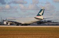 B-LJG @ MIA - Cathay Pacific Cargo 747-800F