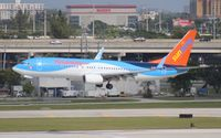 C-FLZR @ FLL - Sun Wing 737-800 - by Florida Metal