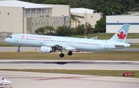 C-GITY @ FLL - Air Canada A321 - by Florida Metal