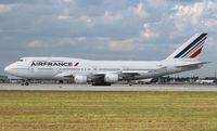 F-GITI @ MIA - Air France 747-400