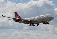 G-VBIG @ MIA - Virgin Atlantic 747-400