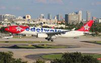 HB-JHQ @ TPA - Edelweiss A330-300