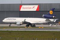 D-ALCI @ LOWW - Lufthansa Cargo MD11F - by Andreas Ranner