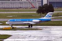 PH-KZR @ EHAM - Fokker F-70 [11551] (KLM cityhopper) Amsterdam-Schiphol~PH 10/08/2006
