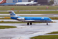 PH-WXD @ EHAM - Fokker F-70 [11563] (KLM cityhopper) Amsterdam-Schiphol~PH 10/08/2006