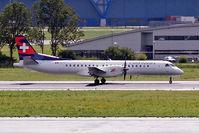 HB-IZJ @ EHAM - SAAB 2000 [015] (Darwin Airlines) Schiphol~PH 10/08/2006