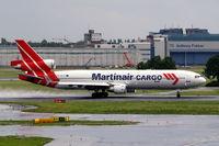 PH-MCY @ EHAM - McDonnell-Douglas MD-11CF [48618] (Martinair cargo) Amsterdam-Schiphol~PH 10/08/2006