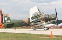 N2AD @ YIP - AD-1 Skyraider