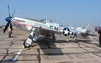 N51BS @ YIP - F-6 photo recon version of the P-51D Little Margaret
