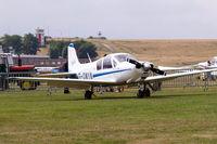 G-OWYN @ EBDT - Aviamilano F.14 Nibbio [208] Schaffen-Diest~OO 12/08/2006 - by Ray Barber