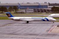 SX-BMP @ EHAM - McDonnell-Douglas DC-9-82 [49279] (Alexandair) Amsterdam-Schiphol~PH 10/08/2006