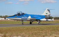 N104RB @ TIX - Starfighters Inc F-104 - by Florida Metal