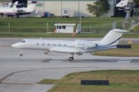 N137WS @ FLL - Gulfstream IV - by Florida Metal