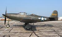 N163FS @ YIP - Bell P-63C King Cobra