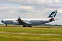 B-HXK @ EHAM - Cathay Pacific A343 departing AMS - by FerryPNL