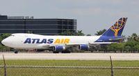 N419MC @ MIA - Atlas Air 747-400