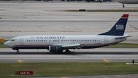 N435US @ MIA - US Airways 737-400