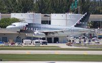 N527NK @ FLL - Spirit A319