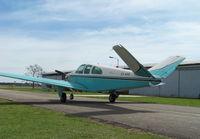 CX-AXO @ SUAA - Bonanza modelo N35, después de 15 años hangarado, hoy está en vuelo nuevamente. - by aeronaves CX