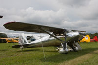 N1228B @ IA27 - At Antique Airfield, Blakesburg - by alanh
