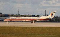 N606AE @ MIA - American Eagle E145